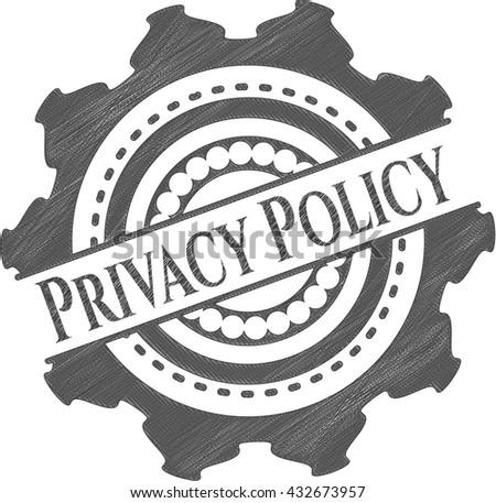 Privacy Policy draw (pencil strokes)