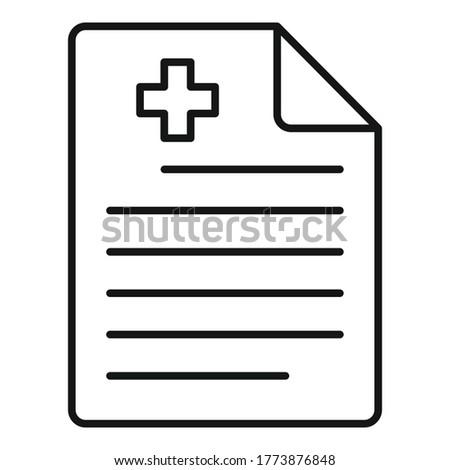private clinic paper icon
