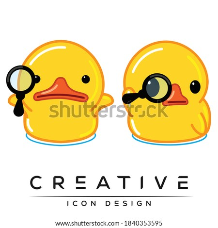 private detective cartoon icons