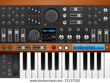 pro music synthesizer