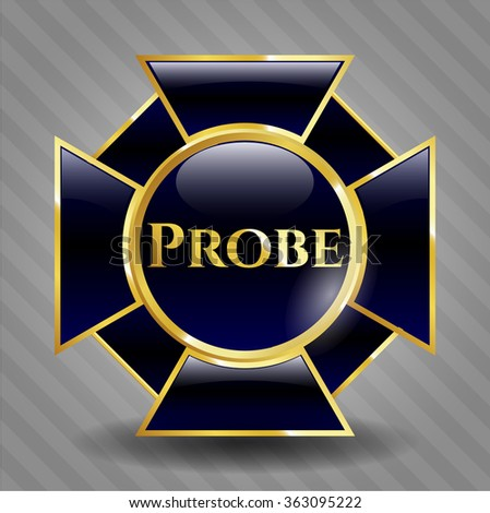 Probe shiny badge
