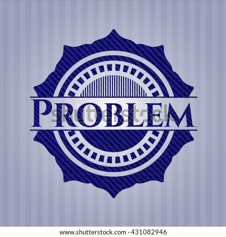 Problem jean background