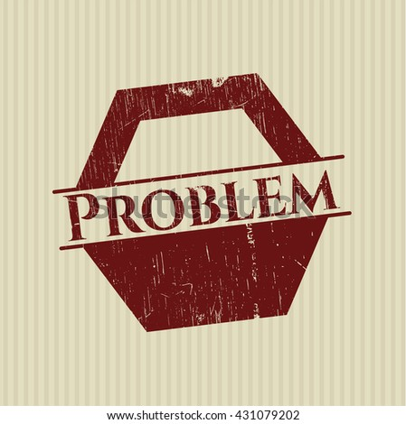 Problem rubber grunge seal