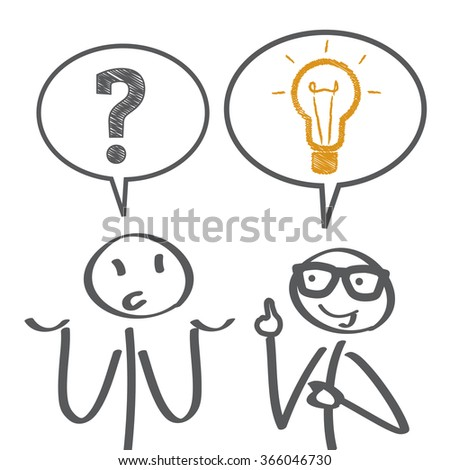 Problem solving - vector illustration