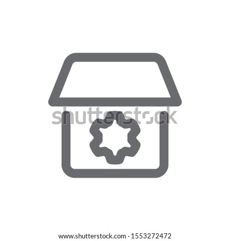 Process icon, Building Icon, House, city and other