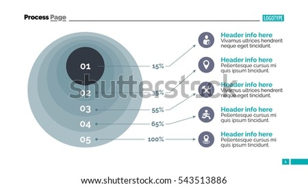 process infographic slide