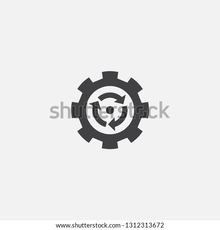 process optimization base icon. Simple sign illustration. process optimization symbol design. Can be used for web, print and mobile