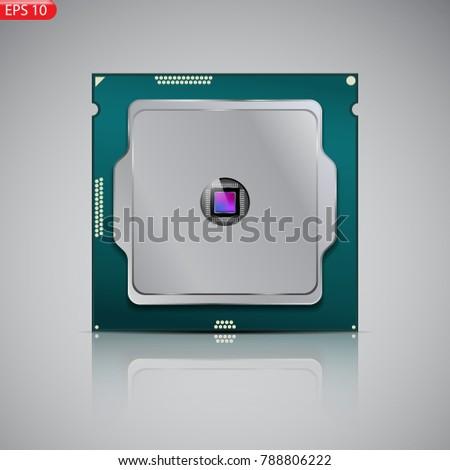 processor  brain  core  dark