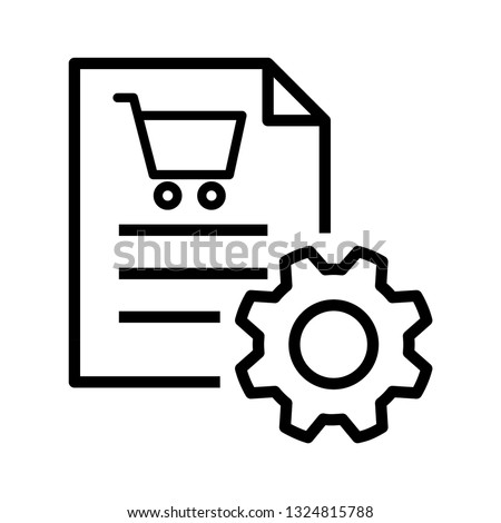 Procurement icon, vector Stockfoto ©