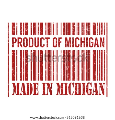 product and made in michigan...