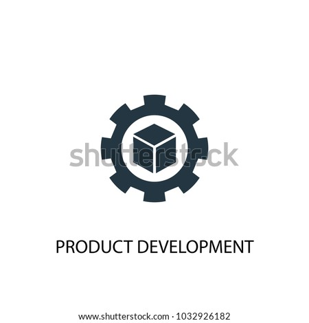 Product development icon. Simple element illustration. Product development symbol design from Startup collection. Can be used for web and mobile.