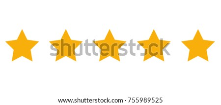 Product rating stars