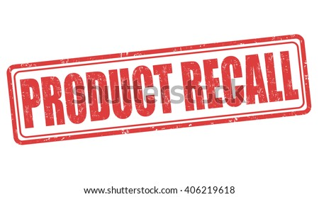 product recall grunge rubber