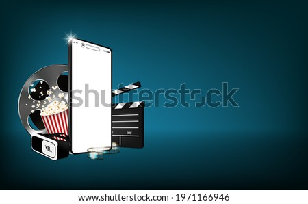 Production of movies, advertising media, communication clips with applications from mobile phone technology online to the audience. Concept the beginning of a small film, movies, music industry format
