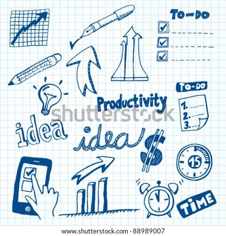 Productivity Doodles