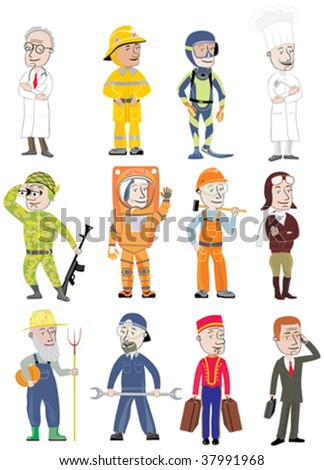 Profession stock vector