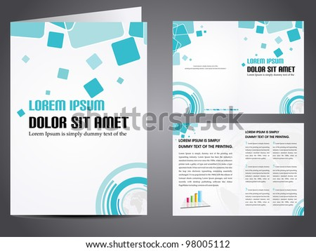 creative professional green business brochure template download