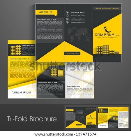 Professional Business Flyer Corporate Brochure Or Cover