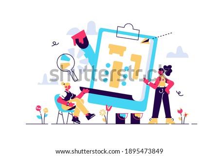 Professional interior designer concept. Decorator planning the design Stok fotoğraf ©