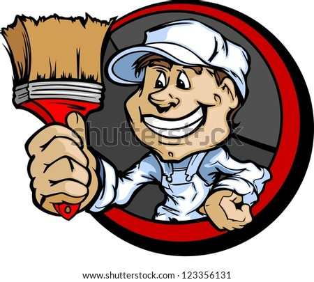 Professional Painters Logo Professional Painter With