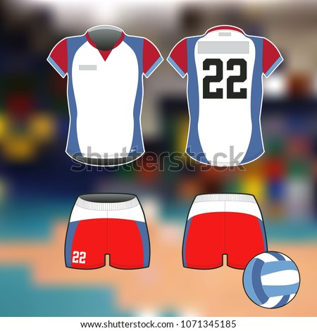 Volleyball Uniform Vector Template Free Psd Download 368 Free Psd