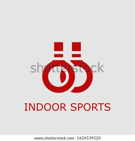 Professional vector indoor sports icon. Indoor sports symbol that can be used for any platform and purpose. High quality indoor sports illustration.