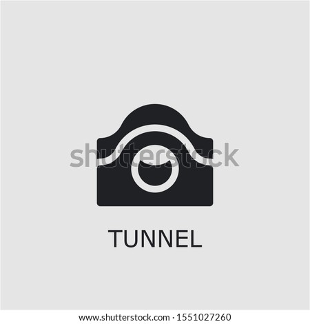 professional vector tunnel icon