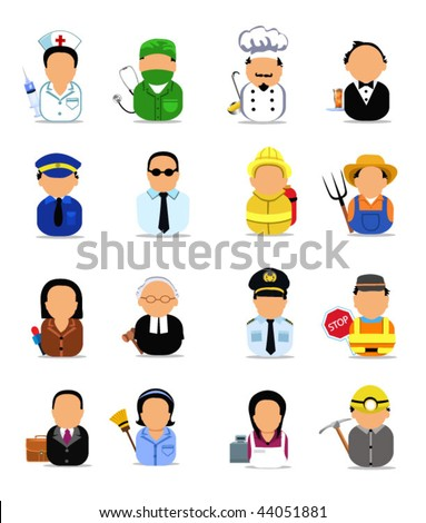 professions icons