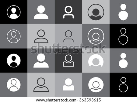 Profile Picture Icons - Avatar