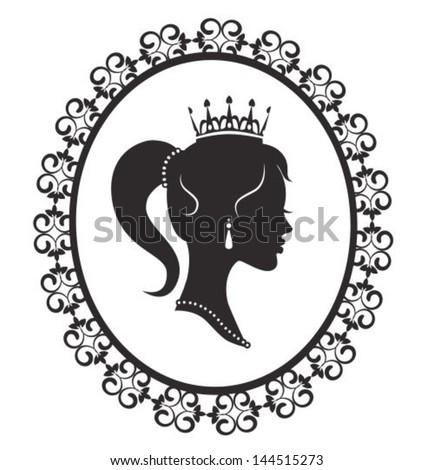 profile silhouette of a