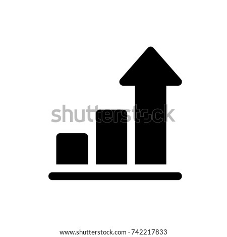 profit icon, profit icon vector, in trendy flat style isolated on white background. profit icon image, profit icon illustration