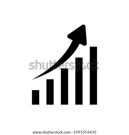 profits icon in trendy design style. profits icon isolated on white background. profits vector icon simple and modern flat symbol for web site, mobile, logo, app, UI. profits icon vector illustration.