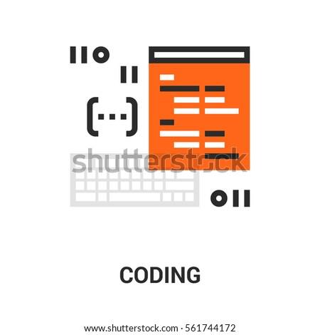 program coding icon.