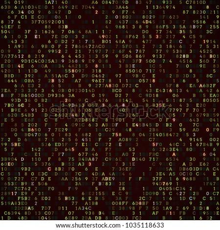 programming code abstract