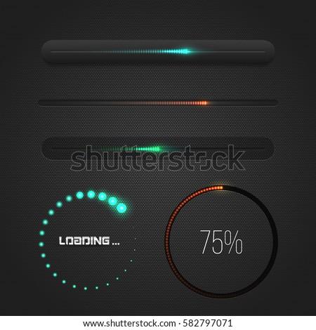 progress loading bar with