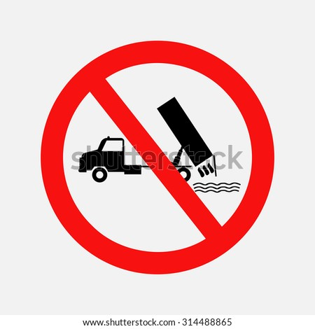 prohibiting sign  dumping