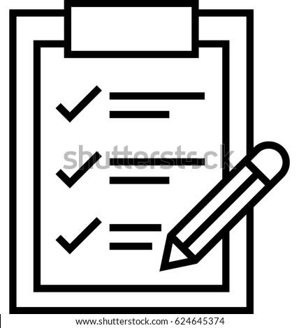 Project Brief Vector Icon