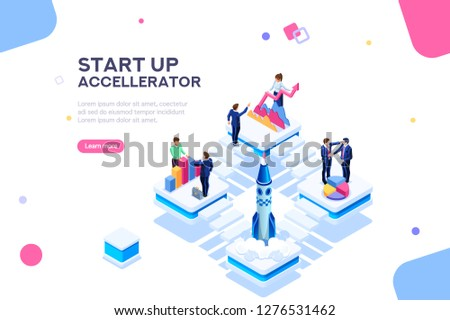 Project management financial report strategy. Consulting team. Collaboration concept with collaborative people. Isometric business analysis planning. Flat isometric characters illustration.