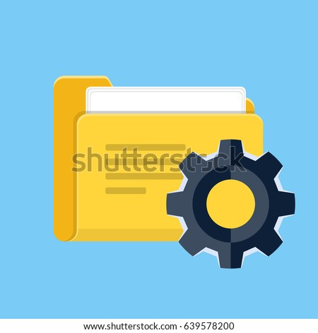 Project Management Vector Flat Icon