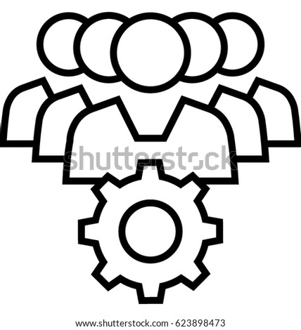 Project Management Vector Icon