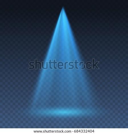 projector vertical light effect....