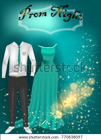 prom night party background for ...