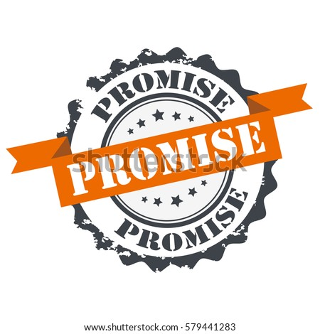 promise stamp sign seal logo