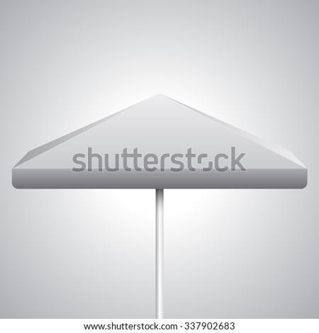 promo umbrella vector