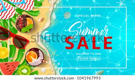 promo web banner template for