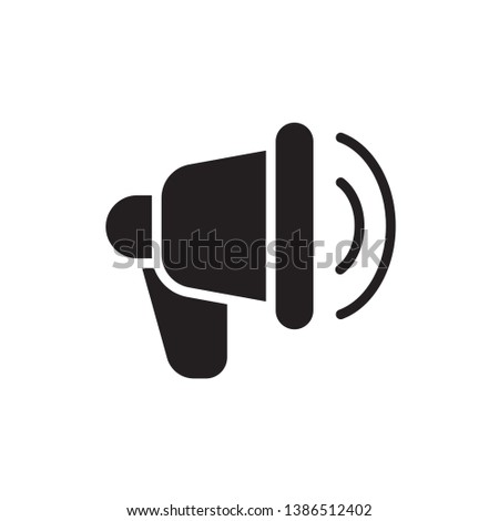 promotion icon vector glyph style