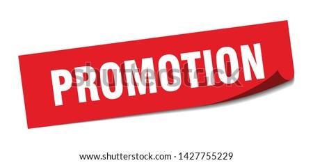promotion square sticker. promotion sign. promotion banner
