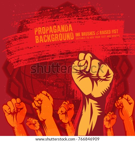 propaganda background style