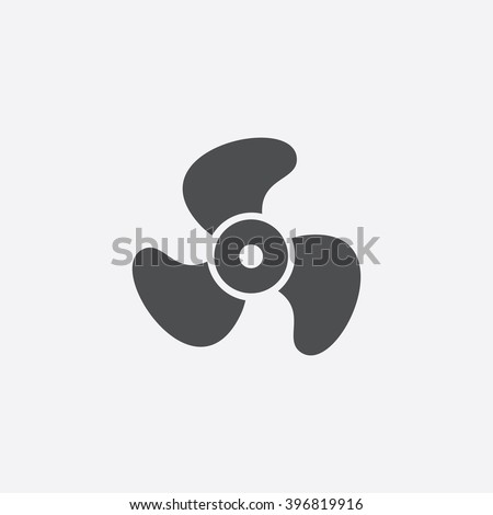 Propeller Icon Vector.
