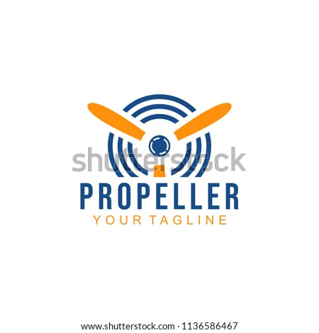 Propeller Logo Design